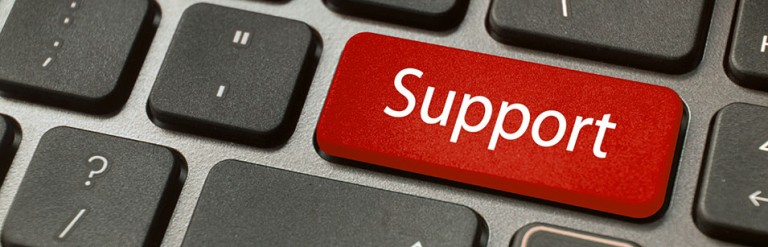 IT-Support-Button